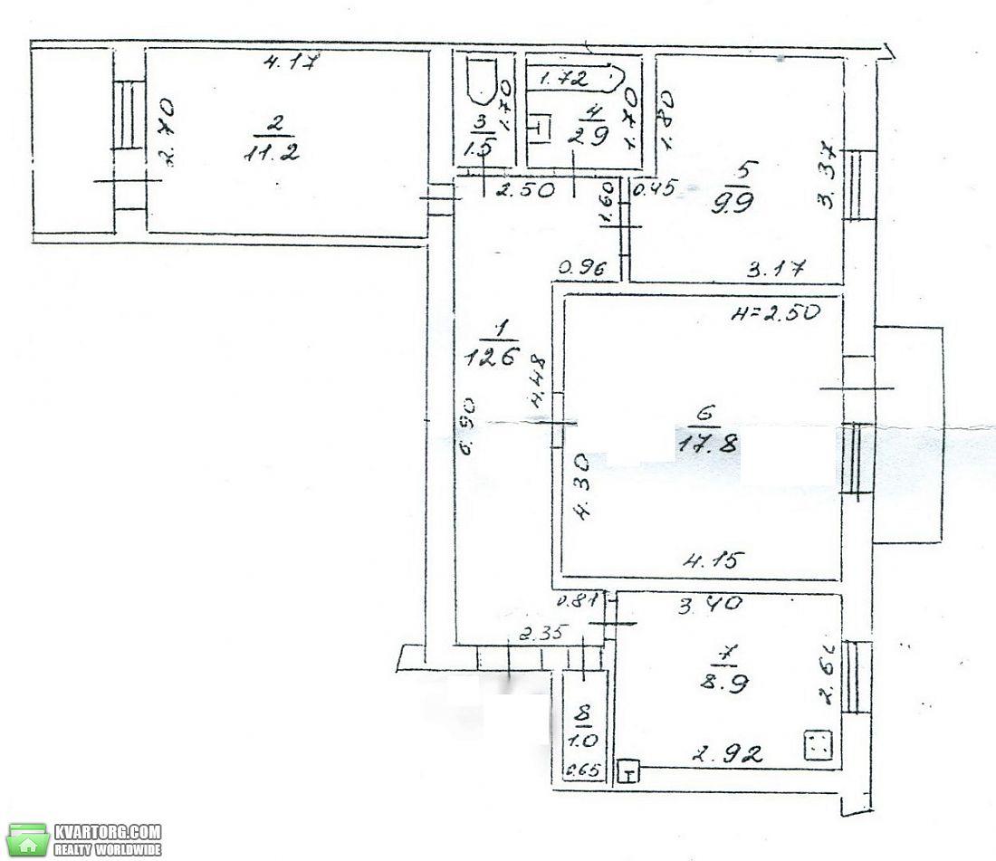 продам 3-комнатную квартиру. Одесса, ул.Косвенная . Цена: 42000$  (ID 2086189)