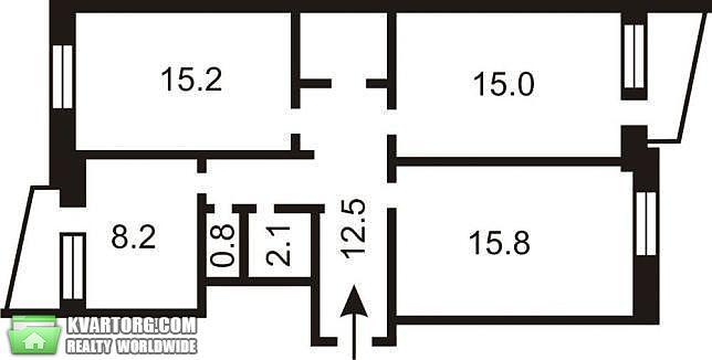 продам 3-комнатную квартиру Киев, ул. Героев Сталинграда пр 13а - Фото 8