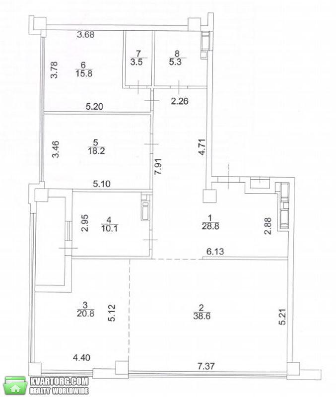 продам 3-комнатную квартиру Киев, ул. Саперное поле 5 - Фото 4