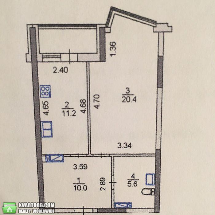 продам 1-комнатную квартиру. Киев, ул.Драгоманова 2. Цена: 42900$  (ID 2041333) - Фото 2