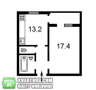 продам 1-комнатную квартиру. Киев, ул. Драгоманова 14 а. Цена: 45000$  (ID 1796200) - Фото 8