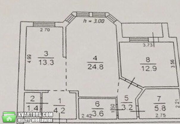 продам 2-комнатную квартиру Одесса, ул.Маршала Говорова улица 8 - Фото 10