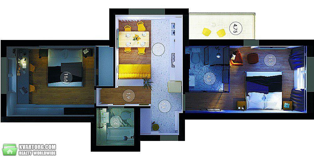 продам 2-комнатную квартиру Киев, ул. Голосеевский пр 74 - Фото 6