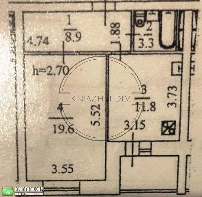 продам 1-комнатную квартиру Киев, ул.ул. Ревуцкого 5 - Фото 9