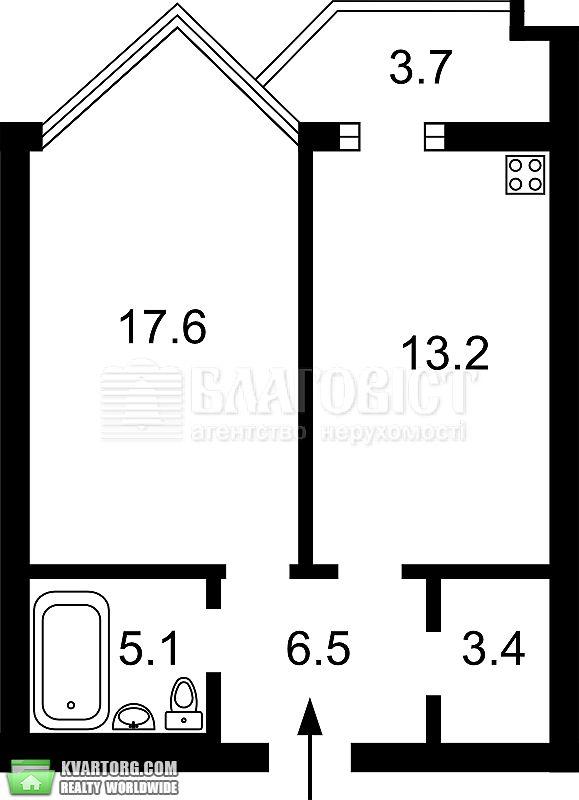 продам 2-комнатную квартиру. Киев, ул. Барбюса 51/1а. Цена: 111999$  (ID 2070377) - Фото 2