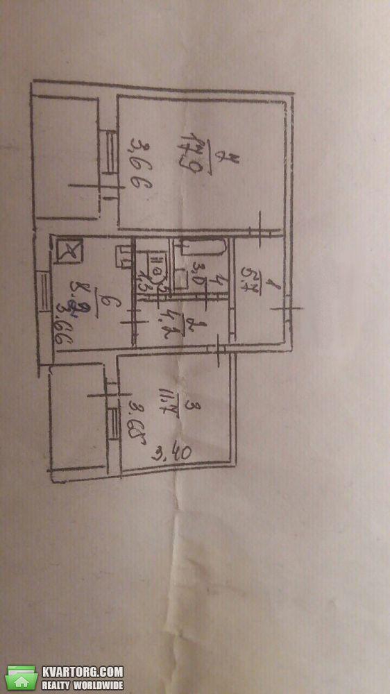 продам 2-комнатную квартиру. Киев, ул. Чернобыльская 21. Цена: 56000$  (ID 2016705) - Фото 7