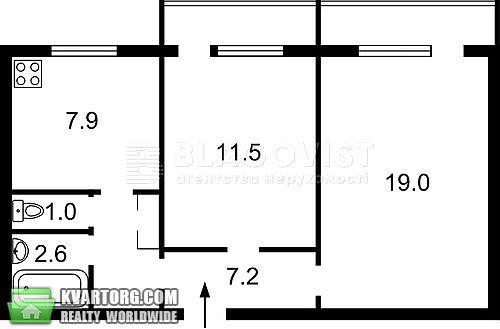 продам 2-комнатную квартиру Киев, ул. Героев Сталинграда пр 59 - Фото 4