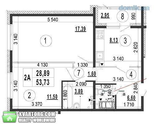 продам 2-комнатную квартиру. Киев, ул.ЖК  Патриотика  . Цена: 43000$  (ID 2229449) - Фото 3