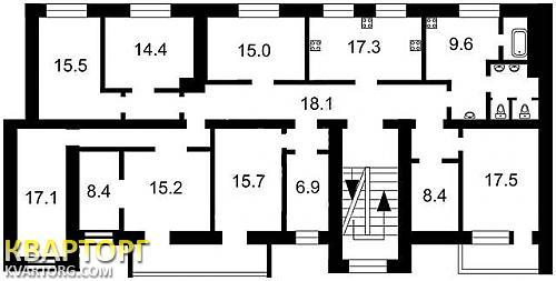 продам многокомнатную квартиру. Киев, ул.Владмирская.  71. Цена: 270000$  (ID 811630) - Фото 2