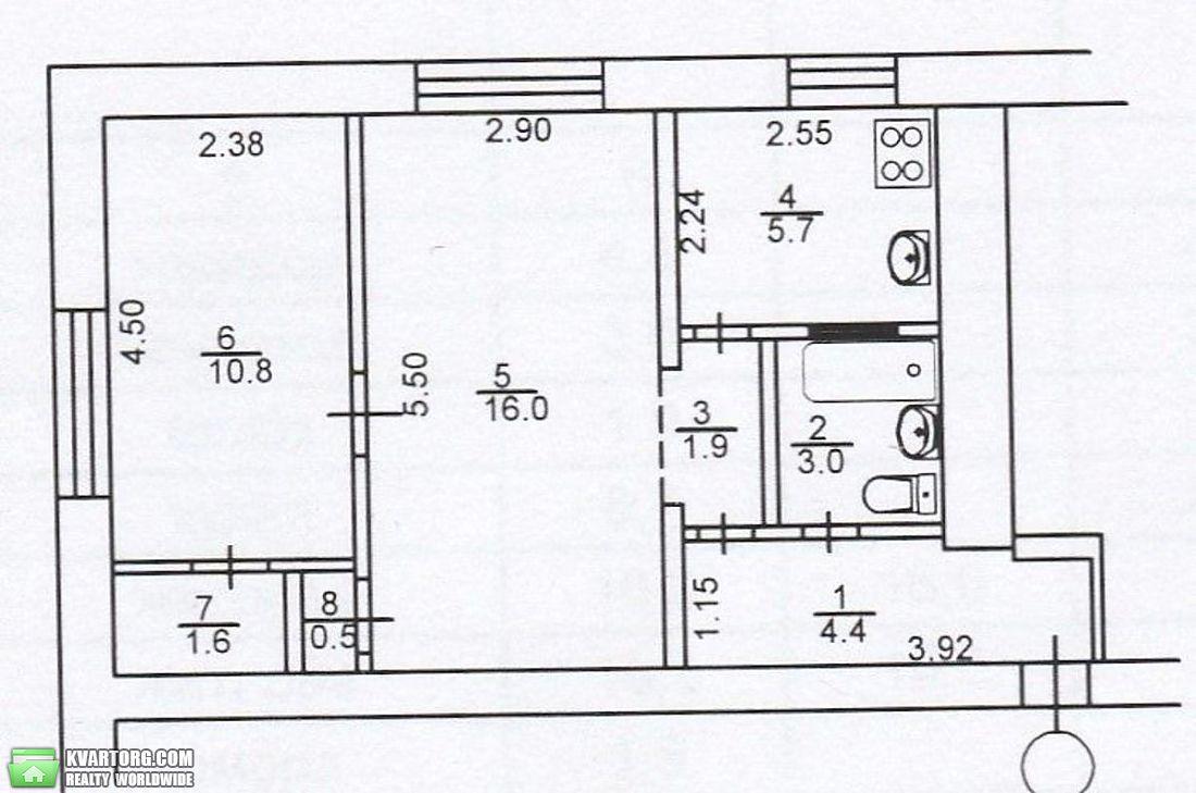 продам 2-комнатную квартиру Киев, ул. Бастионная 11а - Фото 2