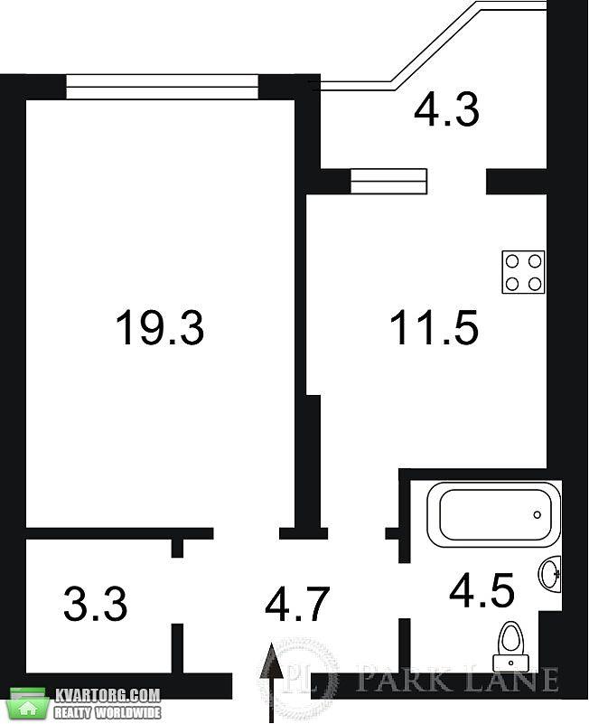 продам 2-комнатную квартиру. Киев, ул. Бажана 24/1. Цена: 92000$  (ID 1797242) - Фото 3