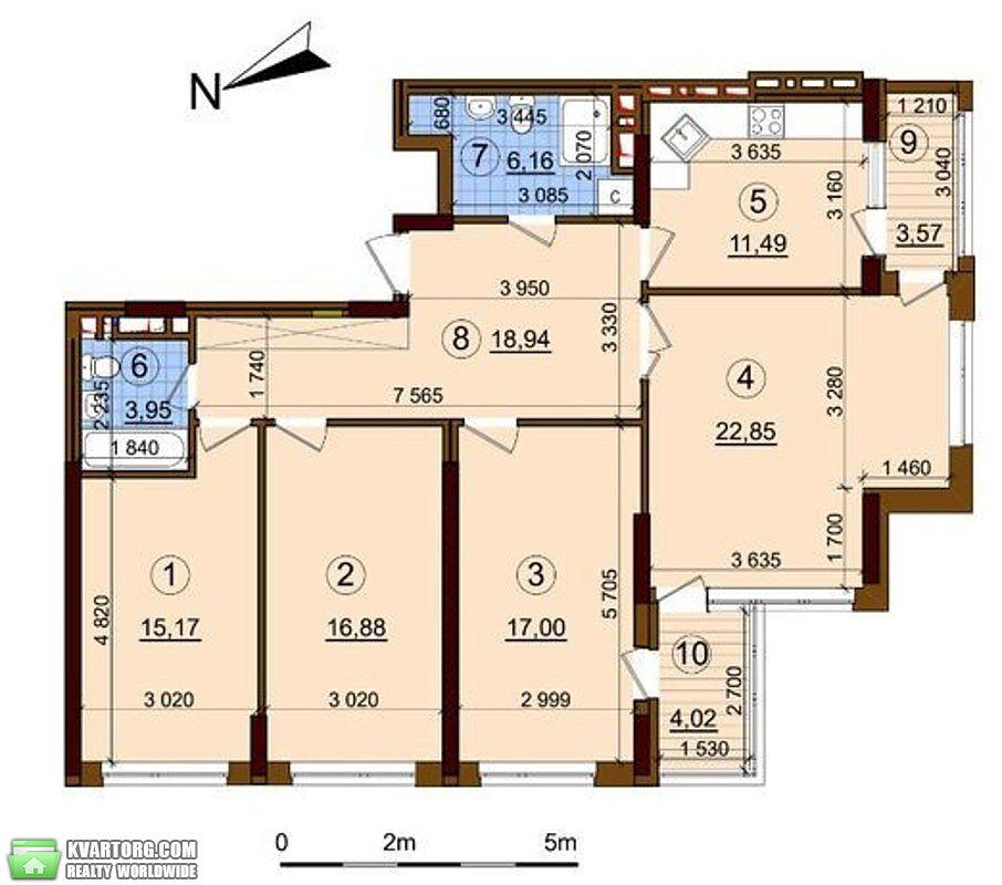 продам 4-комнатную квартиру Киев, ул. Правды пр 43А - Фото 1