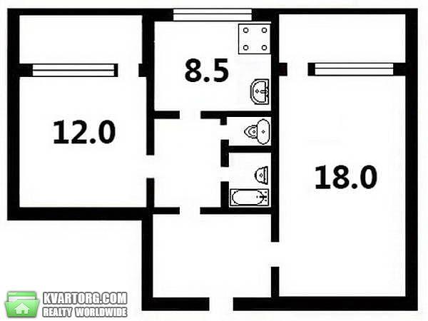 продам 2-комнатную квартиру Киев, ул. Лайоша Гавро 9е - Фото 3