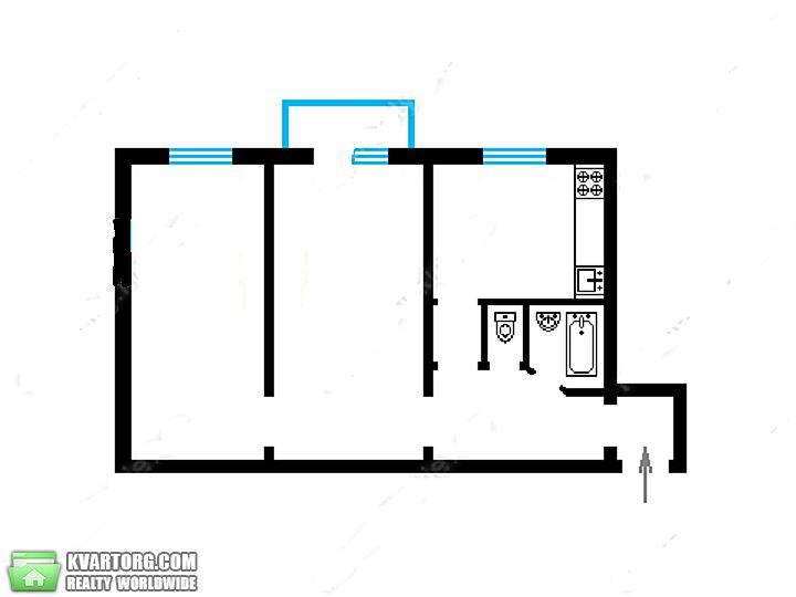продам 2-комнатную квартиру Киев, ул. Щербаковского 64 - Фото 10