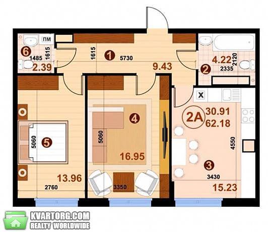 продам 2-комнатную квартиру. Киев, ул.Практичная . Цена: 60000$  (ID 2112452) - Фото 2