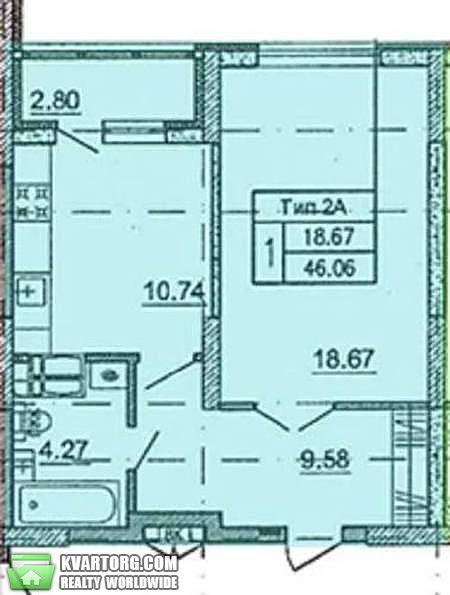 продам 1-комнатную квартиру Киев, ул. Краковская 27а - Фото 2