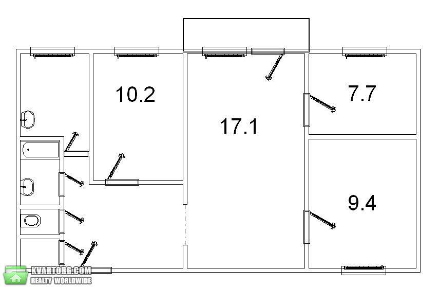 продам 4-комнатную квартиру Одесса, ул.Бочарова/Добровольского - Фото 4