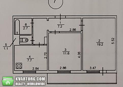 продам 2-комнатную квартиру Киев, ул. Озерная 22 - Фото 2