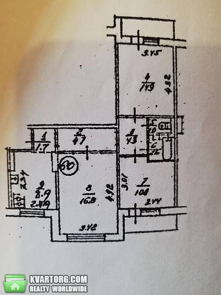 продам 3-комнатную квартиру Киев, ул. Попова 11 - Фото 6