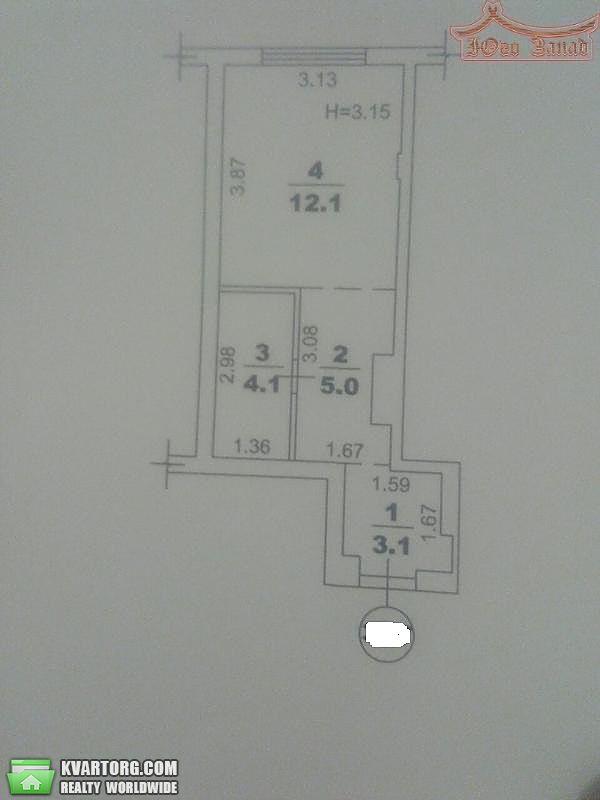 продам 1-комнатную квартиру. Одесса, ул.Разумовская . Цена: 17500$  (ID 2153800) - Фото 3
