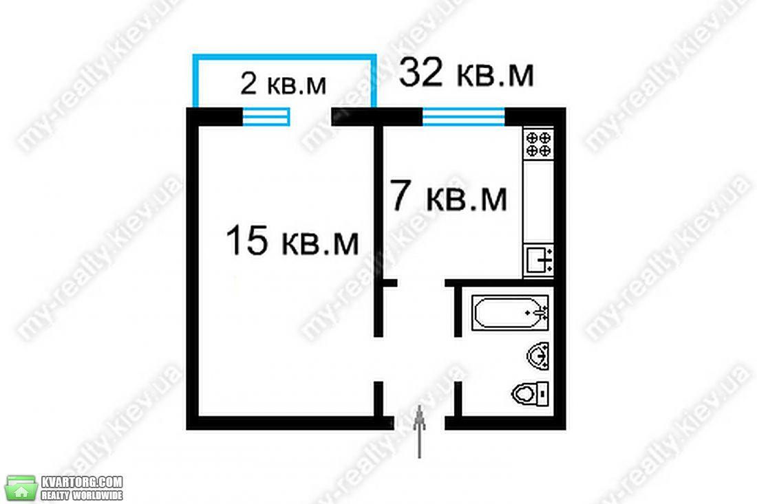 продам 1-комнатную квартиру Киев, ул. Малиновского 32б - Фото 2