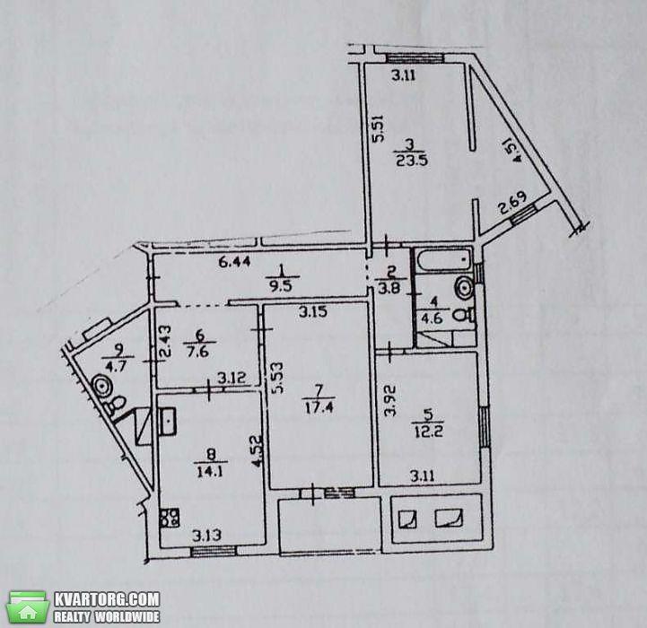продам 3-комнатную квартиру. Киев, ул. Правды пр 31а. Цена: 83000$  (ID 2027754) - Фото 10
