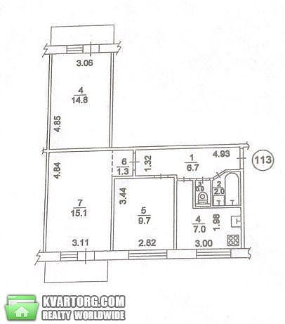 продам 3-комнатную квартиру Киев, ул. Рокоссовского пр 4а - Фото 5