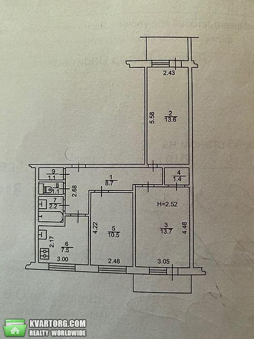 продам 3-комнатную квартиру Киев, ул. Приречная 17 - Фото 8