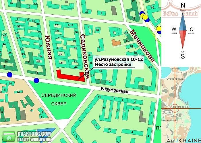 продам 1-комнатную квартиру. Одесса, ул.Разумовская . Цена: 17500$  (ID 2153800) - Фото 5