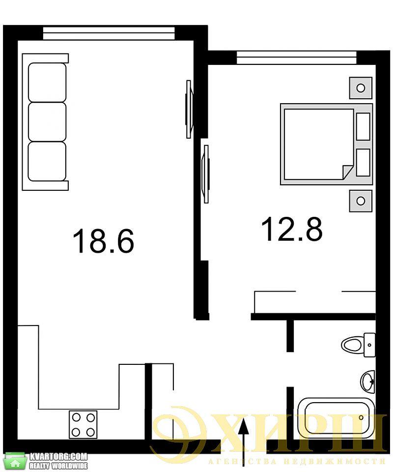 продам 1-комнатную квартиру. Киев, ул. Вильямса 19/14. Цена: 74500$  (ID 2027662) - Фото 3