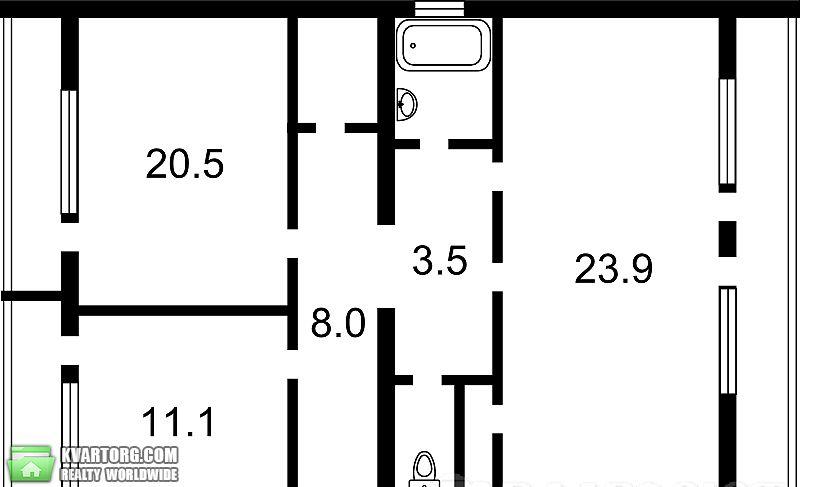 продам 2-комнатную квартиру. Киев, ул. Тарасовская 36. Цена: 122000$  (ID 1795032) - Фото 5