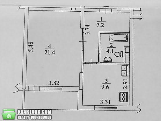 продам 1-комнатную квартиру. Киев, ул. Ломоносова 46/1. Цена: 59000$  (ID 2111673) - Фото 10