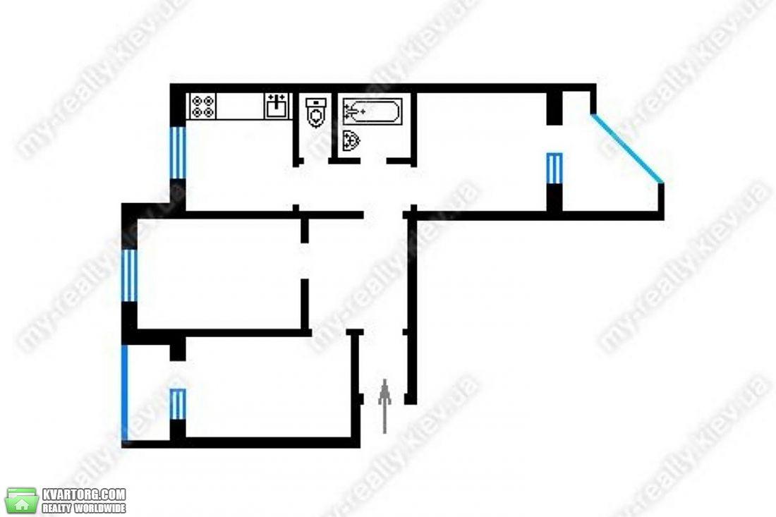 продам 3-комнатную квартиру Киев, ул. Героев Сталинграда пр 58а - Фото 4