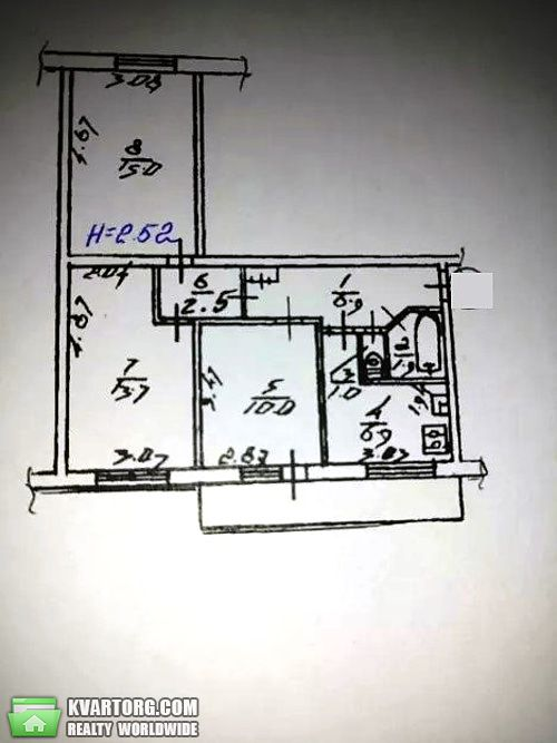 продам 3-комнатную квартиру Киев, ул.мате залки 4 - Фото 7