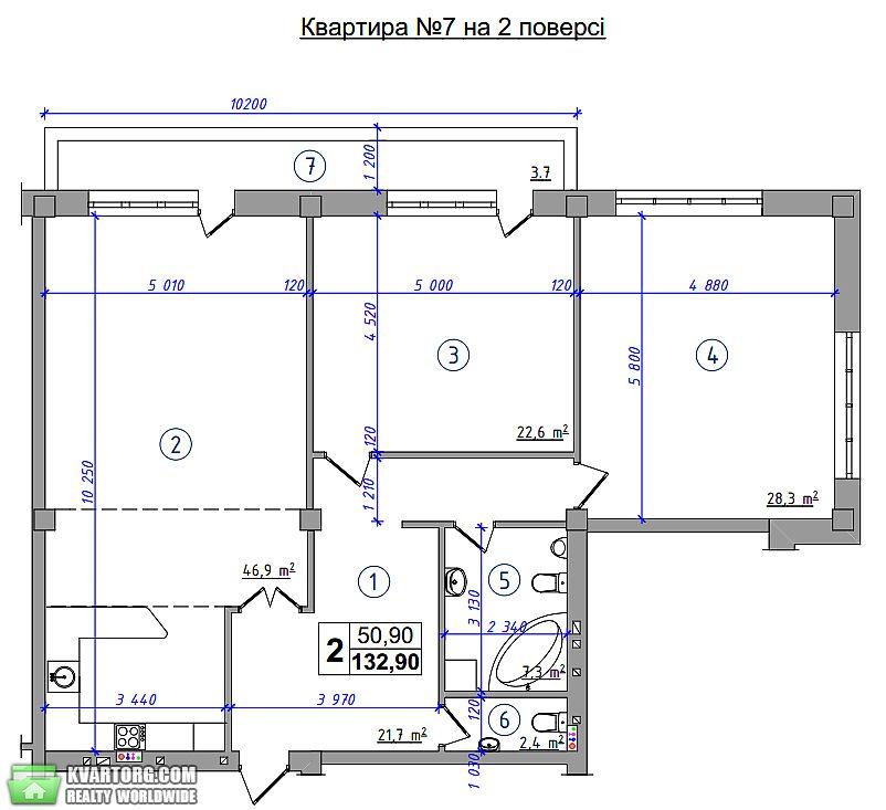 продам 3-комнатную квартиру. Киев, ул. Шмидта 10Ж. Цена: 200000$  (ID 1842968) - Фото 5