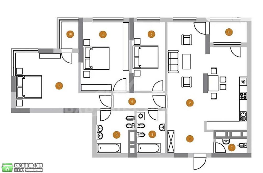 продам 3-комнатную квартиру Киев, ул. Саксаганского 37К - Фото 5