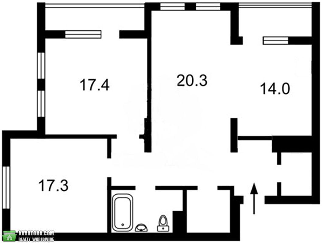 продам 3-комнатную квартиру Киев, ул. Лумумбы  11 - Фото 6