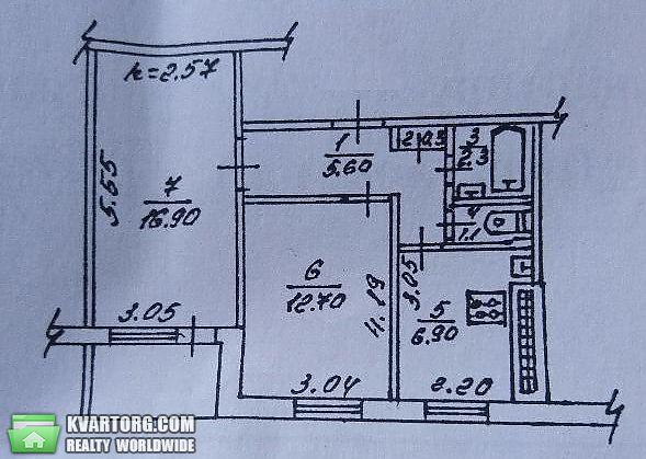 продам 2-комнатную квартиру. Донецк, ул.Терешковой . Цена: 10000$  (ID 2085327)