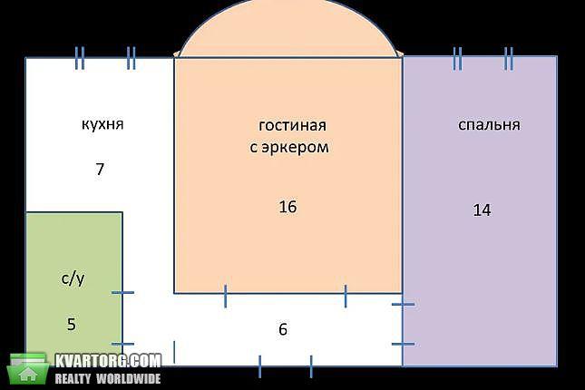 сдам 2-комнатную квартиру Киев, ул. Юрия Коцюбинского 16 - Фото 9