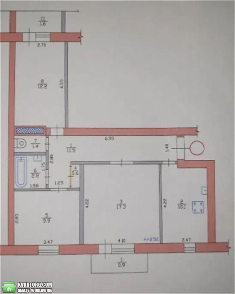 продам 3-комнатную квартиру Днепропетровск, ул. 8 марта 15 - Фото 10