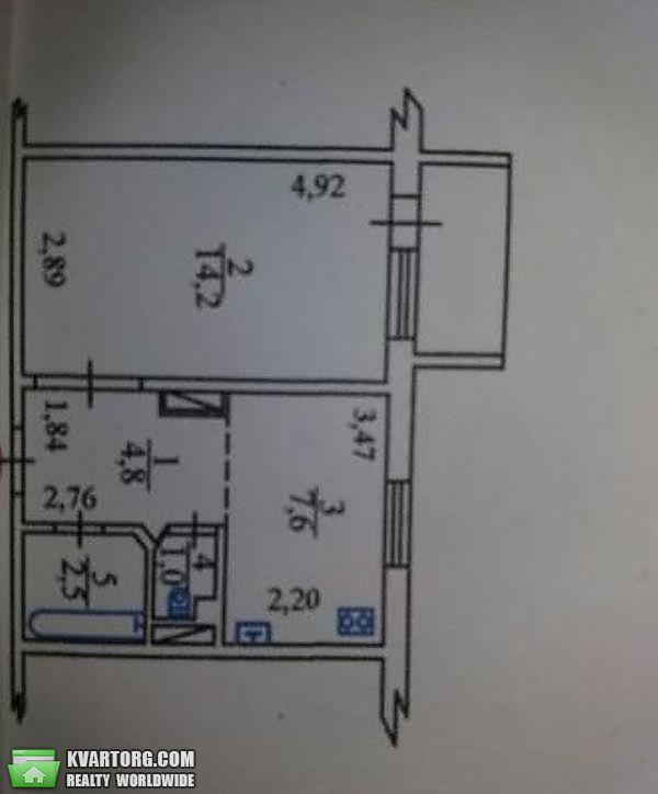 продам 1-комнатную квартиру. Киев, ул. Чернобыльская 18. Цена: 26500$  (ID 2000837) - Фото 2
