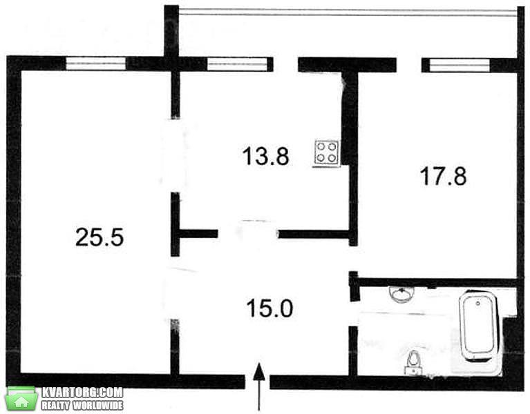 сдам 2-комнатную квартиру. Киев, ул. Черновола 25. Цена: 900$  (ID 2016759) - Фото 10