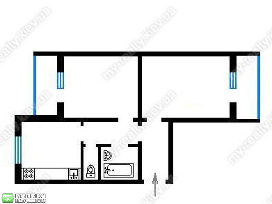 продам 2-комнатную квартиру Киев, ул. Приозерная 8а - Фото 4