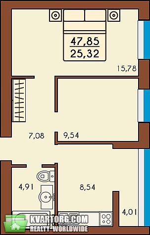 продам 2-комнатную квартиру. Ирпень, ул. Тургеневская . Цена: 21054$  (ID 1796693) - Фото 3