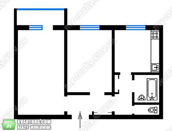 продам 2-комнатную квартиру Киев, ул. Приозерная 12 - Фото 8