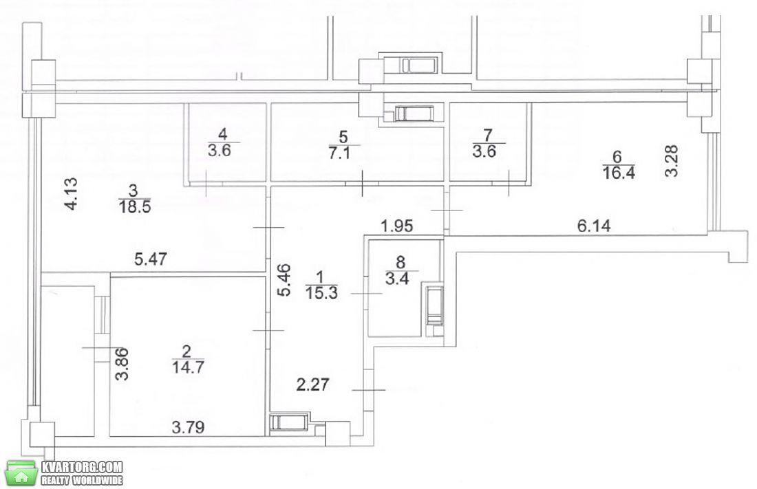 продам 2-комнатную квартиру Киев, ул. Саперное поле 5 - Фото 3
