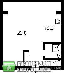 продам 1-комнатную квартиру. Киев, ул. Черновола 30. Цена: 78000$  (ID 1795495) - Фото 2
