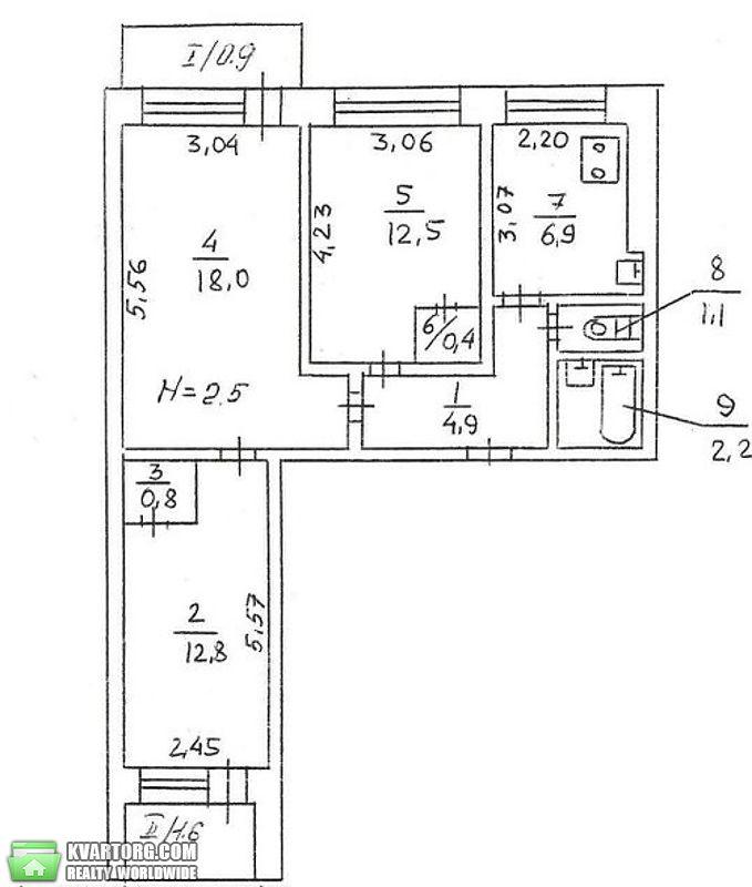 продам 3-комнатную квартиру Киев, ул. Героев Сталинграда пр 19а - Фото 1