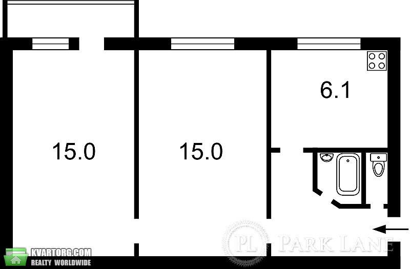 продам 2-комнатную квартиру. Киев, ул. Энтузиастов 11. Цена: 49000$  (ID 1795234) - Фото 2