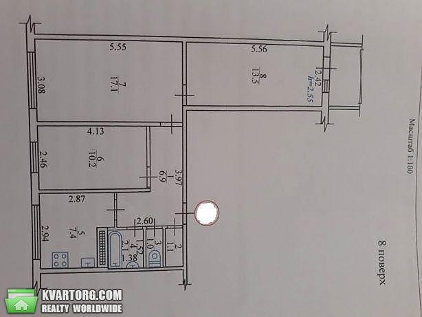 продам 3-комнатную квартиру Киев, ул. Героев Сталинграда пр 9 - Фото 2